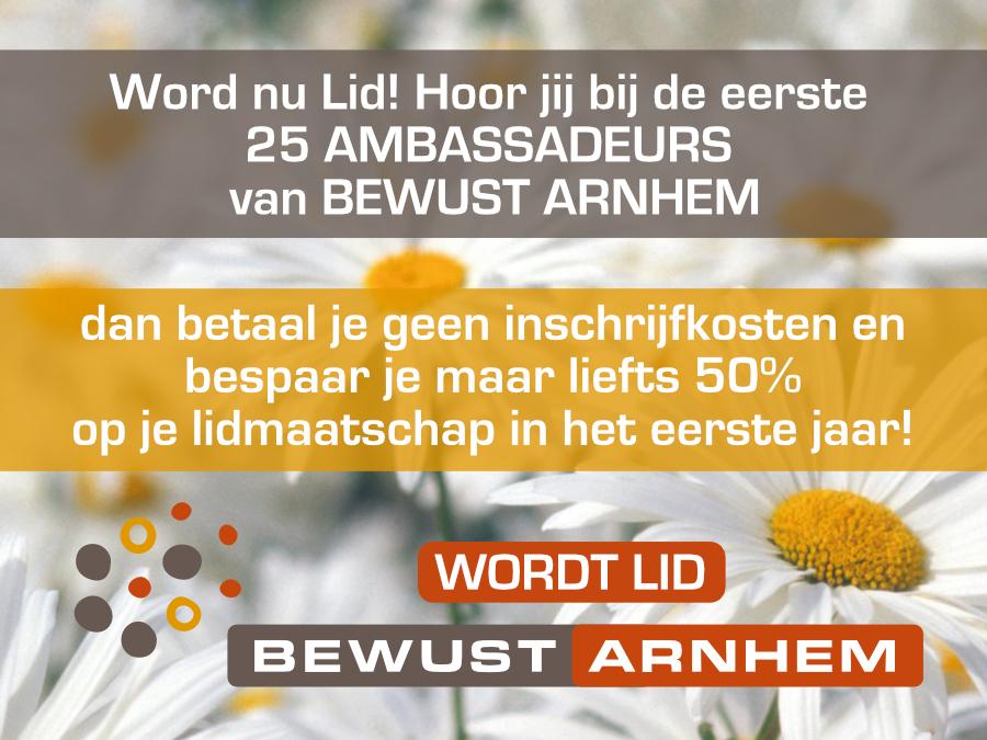25 ambassadeurs voor Bewust Arnhem